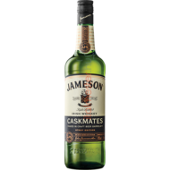 JAMESON IRISH WHISKEY CASKMATES  STAUT 0.7L  40%