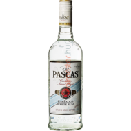 OLD PASCAS WHITE RUM   0.7L    37,5%