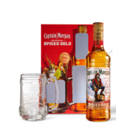 Captain Morgan Spiced Gold Rum 35% 0,7l + korsó