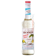 Monin Vanília Cukormentes Szirup 0,7l üveg