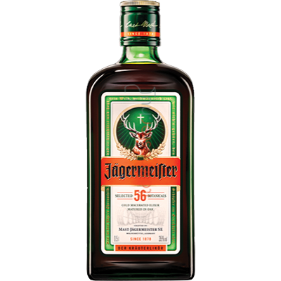 JAGERMEISTER           0.5L       35%