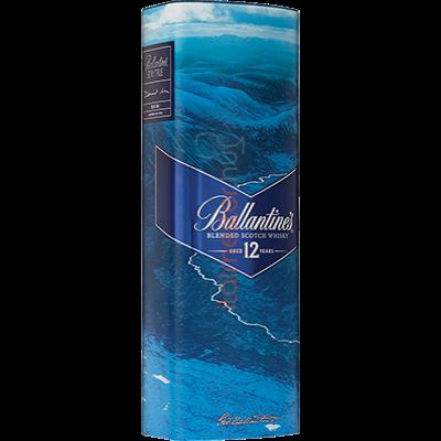 BALLANTINES  Whiskey 12 ÉVES FÉM DÍSZDOBOZ  0.7L  40%