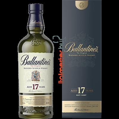BALLANTINES Whiskey 17 ÉVES DÍSZDOBOZ  0.7L 40%