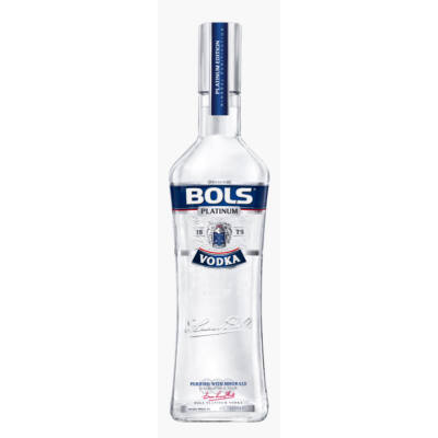 BOLS VODKA PLATINUM 0.5L   40%
