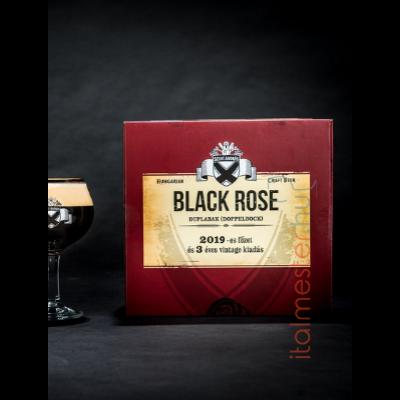 Szentandrási Black Rose 2x0,33 +kehely