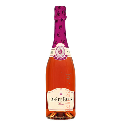 CAFE DE PARIS ROSE 12,5%  0.75 L.