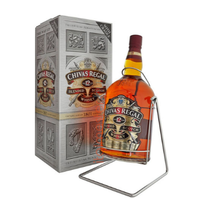 CHIVAS REGAL 12 YEARS  4.5L     40%