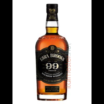 Ezra Brooks 99  bourbon 49,5% 0,75L