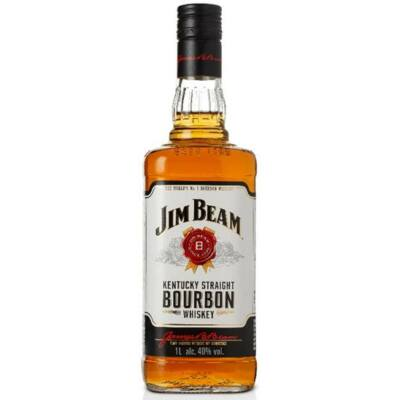 JIM BEAM BOURBON WHISKEY   1L       40%