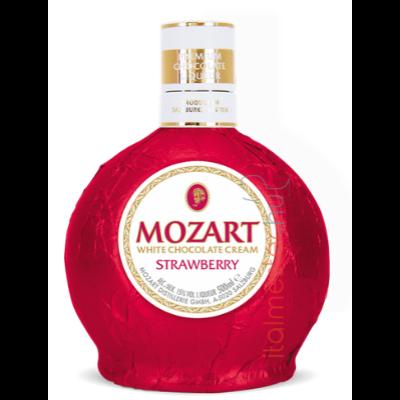 Mozart eper fehér csokoládé likőr 0,5l 17%