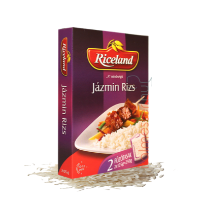 Riceland Jázmin rizs 2*125g főzőtasakos