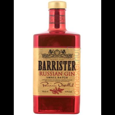 Barrister Orosz Gin 0,7l 43%